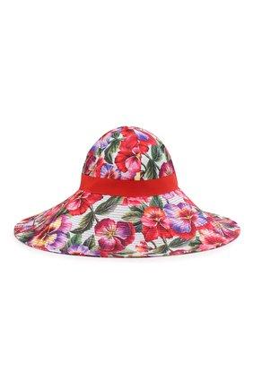 Женская шляпа DOLCE & GABBANA разноцветного цвета, арт. FH488A/HSM21 | Фото 2