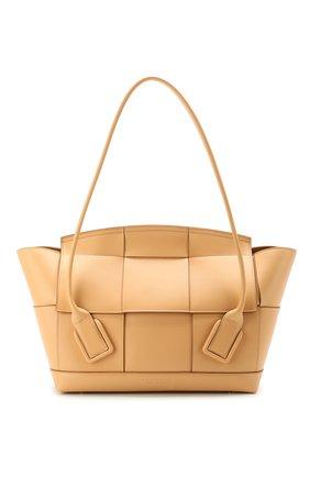 Женская сумка arco 48 BOTTEGA VENETA светло-розового цвета, арт. 598244/VMAP1   Фото 1
