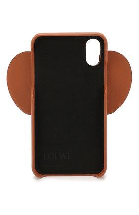 Мужской чехол для iphone x/xs LOEWE коричневого цвета, арт. 103.30AB05 | Фото 2