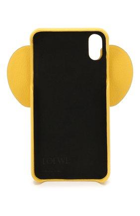 Мужской чехол для iphone x/xs max LOEWE желтого цвета, арт. 103.30AB06 | Фото 2