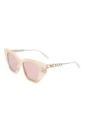 Мужские солнцезащитные очки GUCCI розового цвета, арт. 610397/J0770   Фото 1