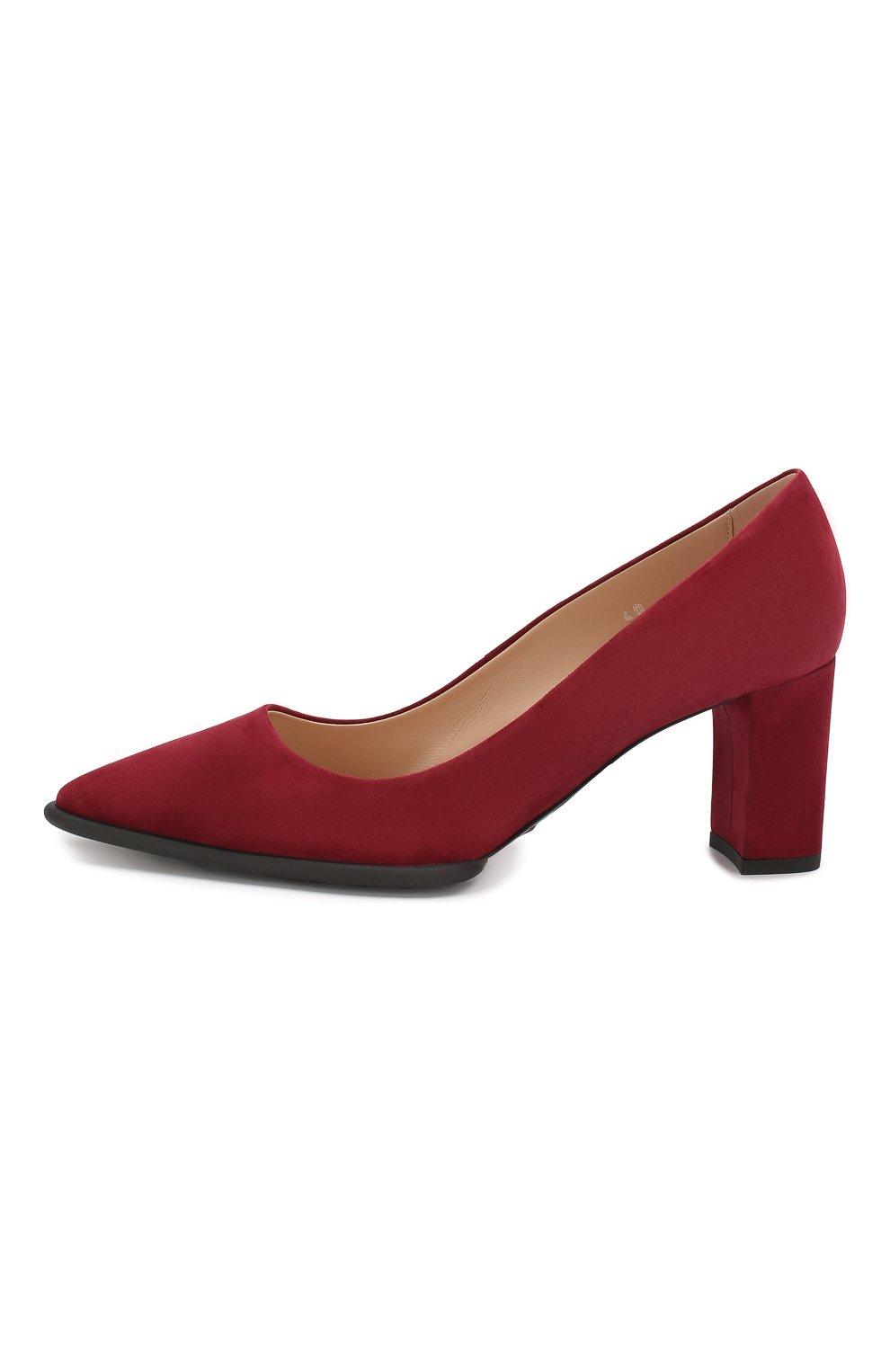 Замшевые туфли | Фото №3