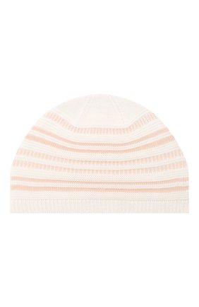 Детского шапка LORO PIANA розового цвета, арт. FAI9476 | Фото 1