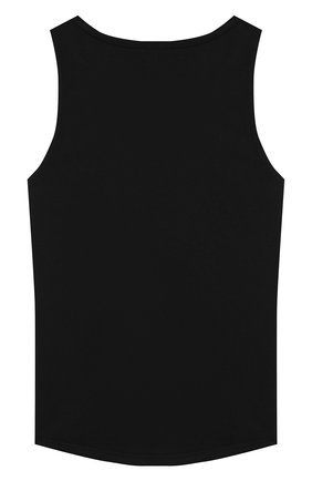 Детский хлопковый топ SONIA RYKIEL ENFANT черного цвета, арт. 20S1TS12 | Фото 2
