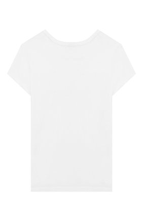 Детская футболка SONIA RYKIEL ENFANT белого цвета, арт. 20S1TS07 | Фото 2