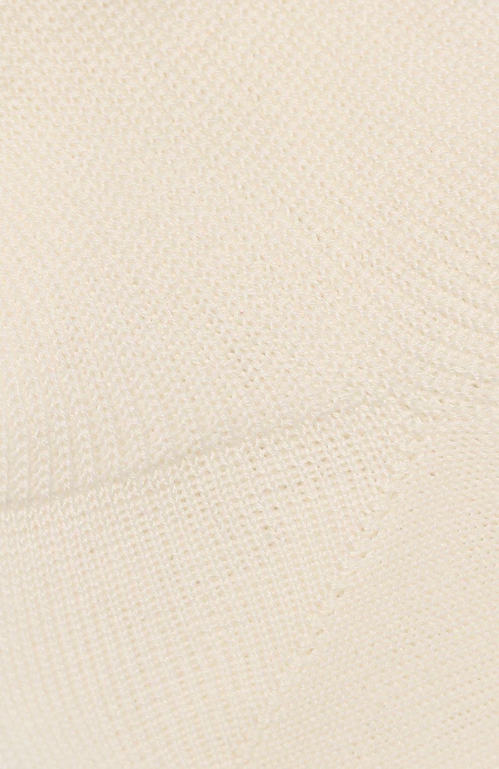 Детские хлопковые носки LA PERLA бежевого цвета, арт. 43455/23-28 | Фото 2