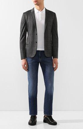 Мужской пиджак HUGO светло-серого цвета, арт. 50424807 | Фото 2