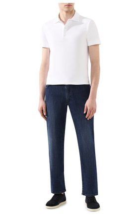 Мужские джинсы BILLIONAIRE синего цвета, арт. B20C MDT2000 BTE001N | Фото 2