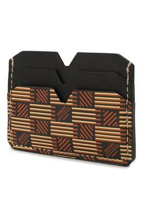 Мужской кожаный футляр для кредитных карт MOREAU коричневого цвета, арт. PW4C01BIV0CLSQB | Фото 2