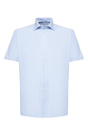 Мужская хлопковая сорочка ETON голубого цвета, арт. 1000 01583 | Фото 1