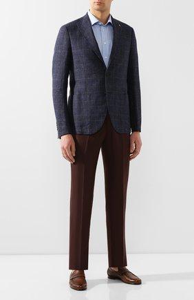 Мужская хлопковая сорочка ETON голубого цвета, арт. 1000 01583 | Фото 2