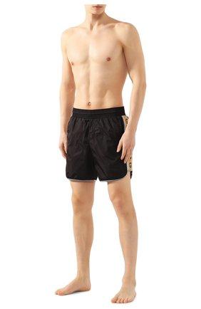 Детского плавки-шорты GUCCI черного цвета, арт. 599552/XHABX | Фото 2