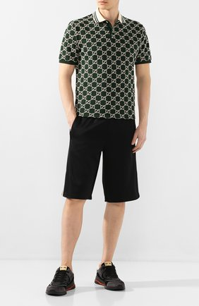 Мужские шорты GUCCI коричневого цвета, арт. 604150/XJBZ8 | Фото 2