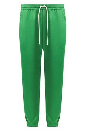 Мужской джоггеры GUCCI зеленого цвета, арт. 598858/XJBZ8 | Фото 1