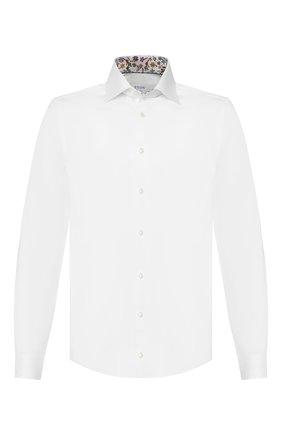 Мужская хлопковая сорочка ETON белого цвета, арт. 1000 00979 | Фото 1