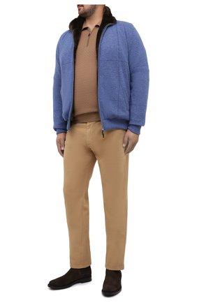 Мужские джинсы BRIONI бежевого цвета, арт. SPNJ0M/08T01/STELVI0 | Фото 2
