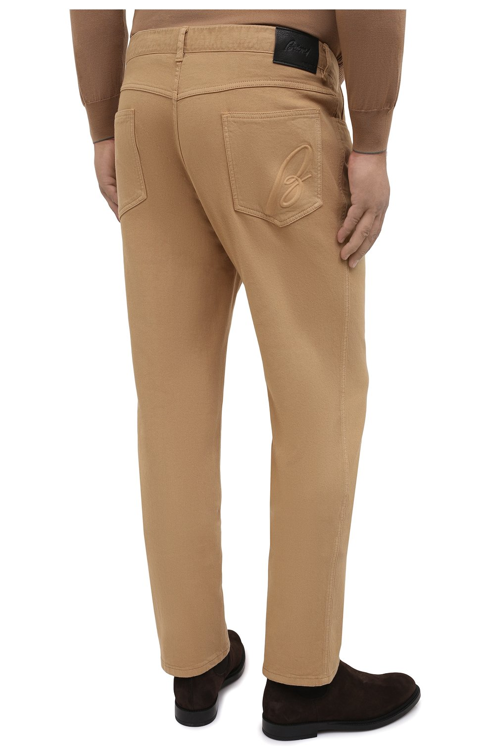 Мужские джинсы BRIONI бежевого цвета, арт. SPNJ0M/08T01/STELVI0 | Фото 4
