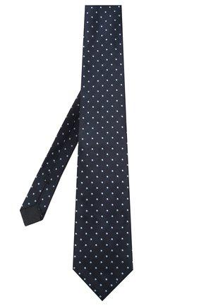 Мужской шелковый галстук TOM FORD синего цвета, арт. 7TF71/XT0 | Фото 2