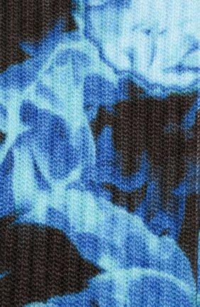 Мужские носки BAPE синего цвета, арт. 1G30183002 | Фото 2