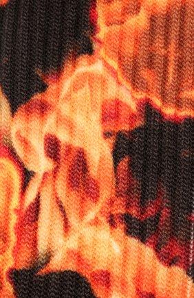 Мужские носки BAPE оранжевого цвета, арт. 1G30183002 | Фото 2