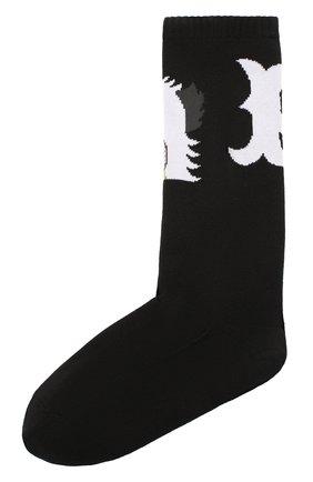 Мужские носки BAPE черного цвета, арт. 1G30183001 | Фото 1