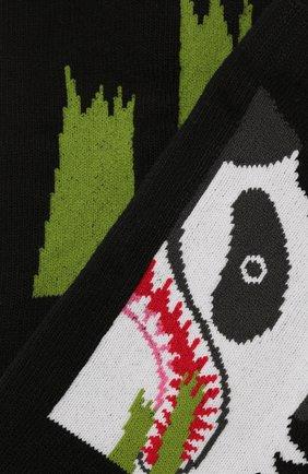 Мужские носки BAPE черного цвета, арт. 1G30183001 | Фото 2