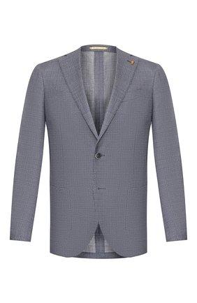 Мужской шерстяной пиджак SARTORIA LATORRE синего цвета, арт. EF74 U70254 | Фото 1