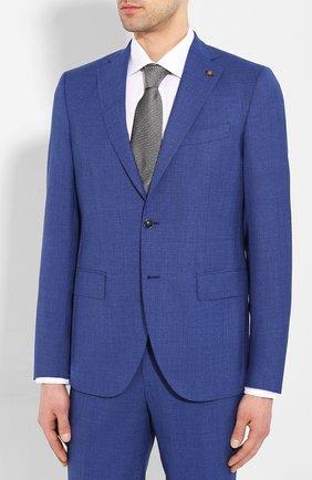 Мужской шерстяной костюм SARTORIA LATORRE синего цвета, арт. A6I7EF U70906 | Фото 2