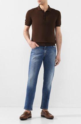 Мужское хлопковое поло SVEVO коричневого цвета, арт. 8277/SE20/MP0002   Фото 2