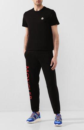 Мужская хлопковая футболка 2 moncler 1952 MONCLER GENIUS черного цвета, арт. F1-092-8C709-10-V8141 | Фото 2