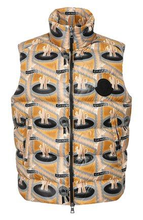 Мужской пуховый жилет 2 moncler 1952 MONCLER GENIUS бежевого цвета, арт. F1-092-1A501-00-539X5 | Фото 1