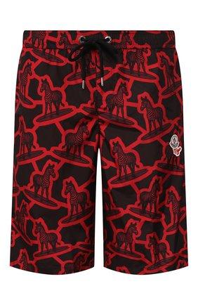 Детского плавки-шорты 2 moncler 1952 MONCLER GENIUS красного цвета, арт. F1-092-2C700-00-54AJJ | Фото 1