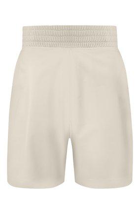 Мужские кожаные шорты BOTTEGA VENETA бежевого цвета, арт. 617342/VKLC0 | Фото 1