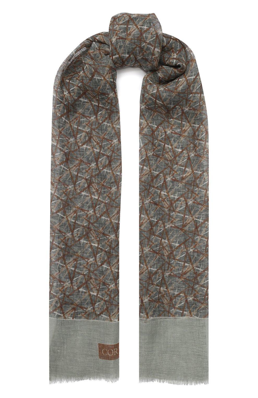 Льняной шарф | Фото №1