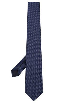 Мужской шелковый галстук CORNELIANI темно-синего цвета, арт. 85U306-0120303/00 | Фото 2