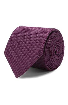Мужской шелковый галстук CORNELIANI фиолетового цвета, арт. 85U306-0120303/00 | Фото 1