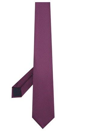 Мужской шелковый галстук CORNELIANI фиолетового цвета, арт. 85U306-0120303/00 | Фото 2