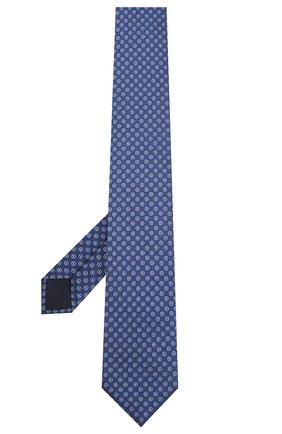 Мужской шелковый галстук CORNELIANI синего цвета, арт. 85U306-0120311/00 | Фото 2