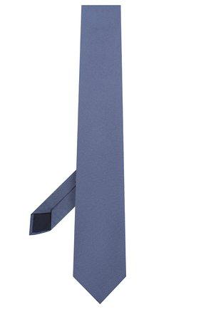 Мужской шелковый галстук CORNELIANI синего цвета, арт. 85U397-0120305/00 | Фото 2