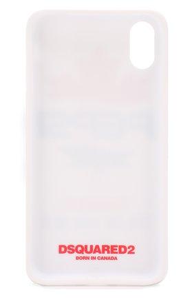 Мужской чехол для iphone x/xs DSQUARED2 белого цвета, арт. ITM0081 55000001 | Фото 2