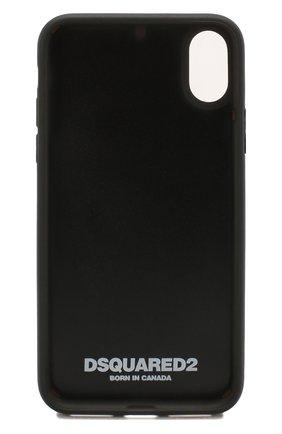 Мужской чехол для iphone x DSQUARED2 красного цвета, арт. ITM0051 35802197 | Фото 2
