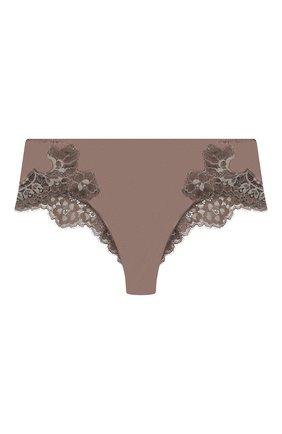 Женские трусы-шорты COTTON CLUB коричневого цвета, арт. AU4 | Фото 1