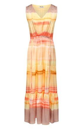 Женское шелковое платье MAX&MOI разноцветного цвета, арт. E20R0SEAU | Фото 1