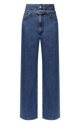 Женские джинсы RAG&BONE синего цвета, арт. WDD19H2697K3BG | Фото 1