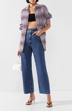 Женские джинсы RAG&BONE синего цвета, арт. WDD19H2697K3BG | Фото 2