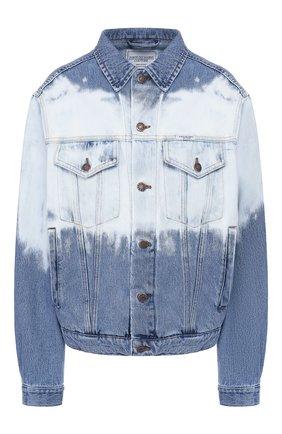 Женская джинсовая куртка FORTE DEI MARMI COUTURE голубого цвета, арт. 20SF5350-TSUM | Фото 1