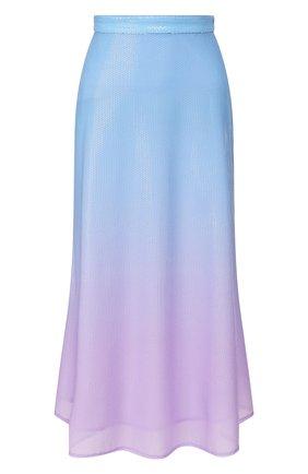 Женская юбка с пайетками OLIVIA RUBIN голубого цвета, арт. 0R0308/PENEL0PE SKIRT | Фото 1