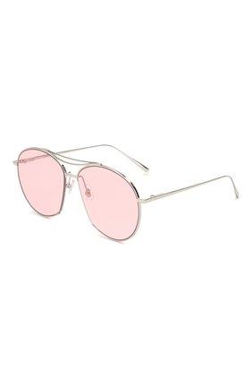 Женские солнцезащитные очки GENTLE MONSTER розового цвета, арт. JUMPING JACK 02 (P) | Фото 1