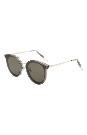 Мужские солнцезащитные очки GENTLE MONSTER серого цвета, арт. MERLYNN G1   Фото 1