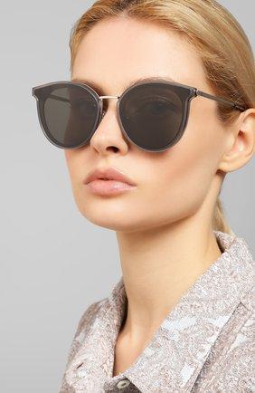 Мужские солнцезащитные очки GENTLE MONSTER серого цвета, арт. MERLYNN G1   Фото 2